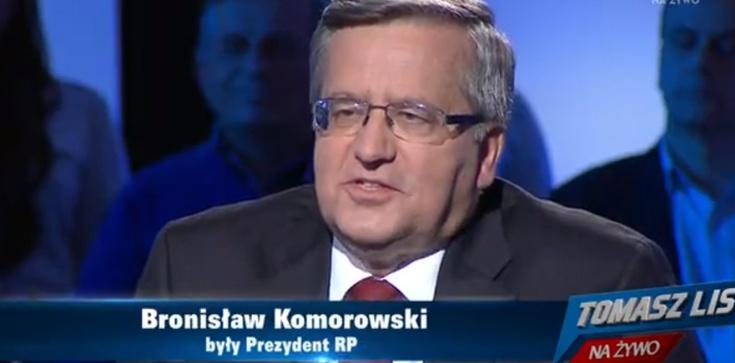 """Komorowski o """"biciu Judasza"""" w Pruchniku. Zaskakujące! - zdjęcie"""