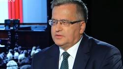 Komorowski bez litości o PO: Za swoje ,,zlewicowienie'' zapłaci wysoką cenę - miniaturka