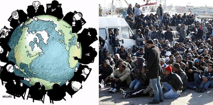 Tornielli: To zachodnie koncerny i instytucje finansowe odpowiadają za napływ imigrantów do Europy - zdjęcie