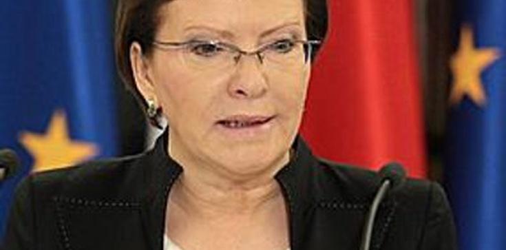 Ewa Kopacz: Nie mówmy o problemach, bo Putin usłyszy - zdjęcie