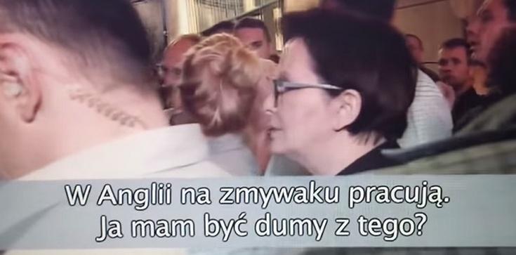 """""""Widać po oczach, że pani kłamie! Co tam robiłaś w Moskwie, kłamczucho?!"""" - mocne spotkanie Kopacz z Polakami! - zdjęcie"""