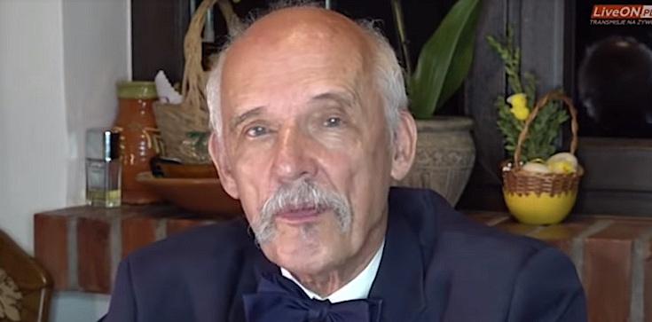 Janusz Korwin-Mikke: Nie ma różnicy między Hitlerem a Kaczyńskim czy Tuskiem - zdjęcie