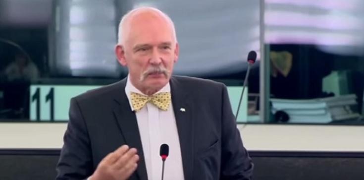Janusz Korwin-Mikke: PiS to ,,komuniści z krzyżem na wierzchu'' - zdjęcie