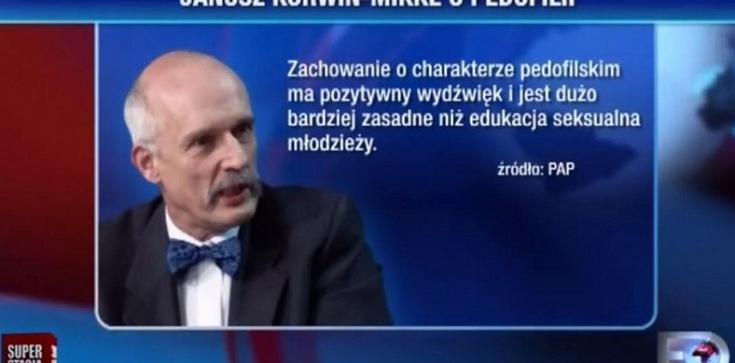 Korwin-Mikke ukarany przez komisję etyki poselskiej za wpisy na Twitterze - zdjęcie