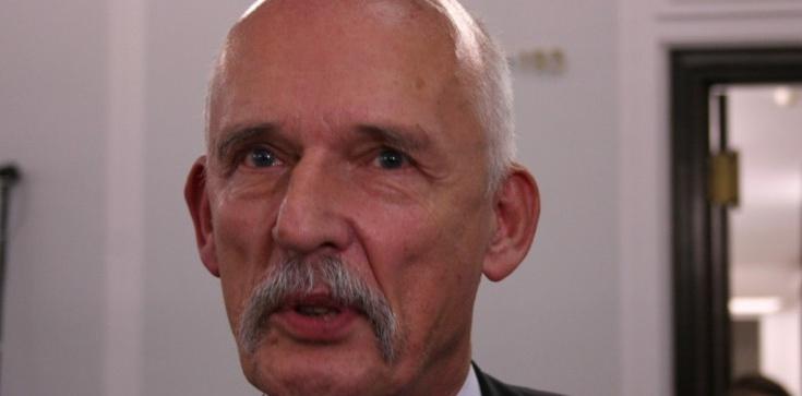 Korwin-Mikke oskarża rząd w sprawie Covid-19 - zdjęcie
