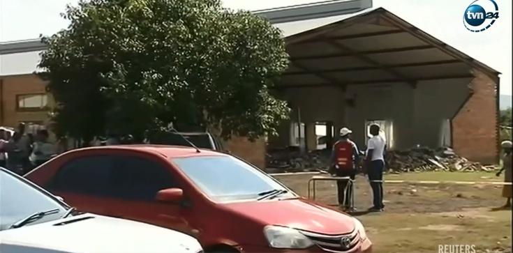W RPA zawalił się kościół. 13 ofiar śmiertelnych - zdjęcie