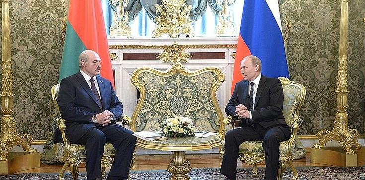 Łukaszenka do Putina: Ukraina to ,,nasza południowa republika'' - zdjęcie