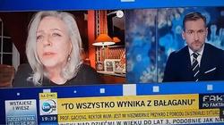 MEGA mocne. Janda w TVN24 wsypała rektora WUM: Ja konkretnie podawałam prof. Gaciongowi listę kolegów [Wideo] - miniaturka