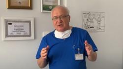 Prof. Krzysztof Simon reklamował maseczki. Sprawą zajmie się rzecznik odpowiedzialności zawodowej - miniaturka