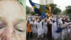 Antyrasista w Szwecji skatowany, bo był podobny do Trumpa - miniaturka