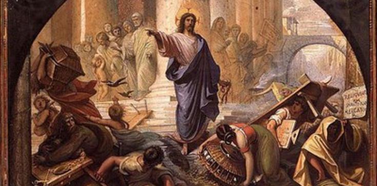 Wypędzenie przekupniów ze świątyni należy zaliczyć do cudów Pana Jezusa! - zdjęcie