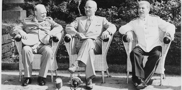 17 lipca 1945 roku rozpoczęła się konferencja w Poczdamie - zdjęcie