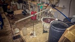 Policja zlikwidowała laboratorium amfetaminy i 4CMC. Skonfiskowano towar za ok. 15 mln zł - miniaturka