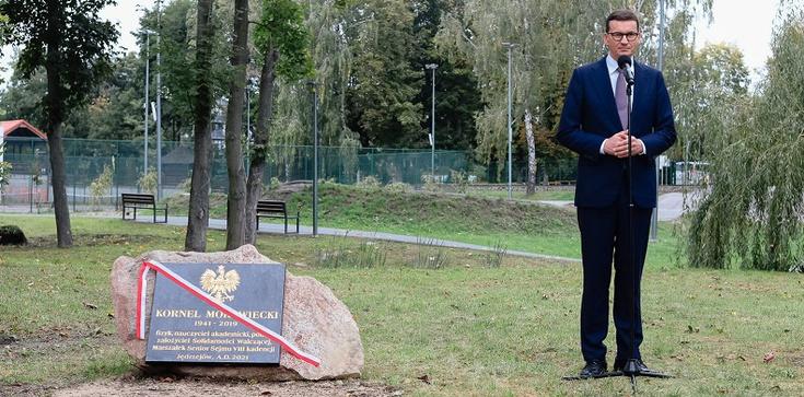 Premier Morawiecki o swoim Ojcu: Był skromnym człowiekiem. Niczego się nie bał - zdjęcie