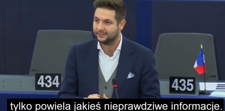 Brawo! Patryk Jaki broni Polski i prawdy w Parlamencie Europejskim - zdjęcie