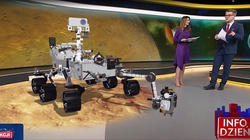 """NASA. Dzisiaj na Marsie lądowanie pierwszego łazika planetarnego """"Perseverance"""" [Wideo] - miniaturka"""