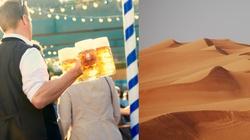 Piwo i precle na środku pustyni? Nowy pomysł władz Dubaju - miniaturka