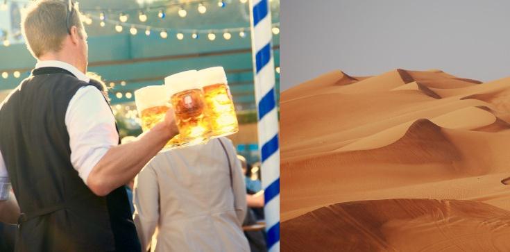 Piwo i precle na środku pustyni? Nowy pomysł władz Dubaju - zdjęcie