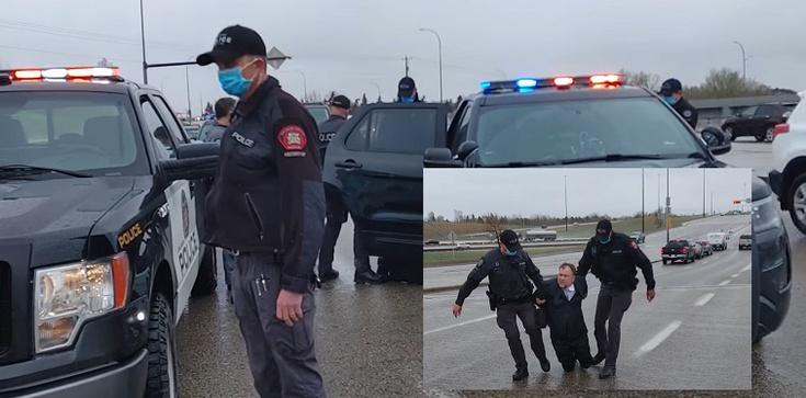 [Wideo] Kanada. Obława i zatrzymanie polskiego pastora za łamanie obostrzeń - zdjęcie