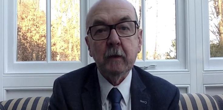 ,,Wolność słowa znajduje się w coraz gorszej sytuacji'' - powiedział prof. Legutko podczas konferencji ,,Cyber Free Speech Warsaw 2021'' - zdjęcie