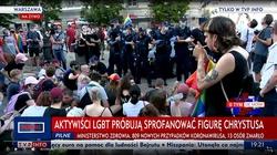Czy działacze LGBT znów chcą sprofanować krzyż Chrystusa Króla na Krakowskim Przedmieściu? - miniaturka