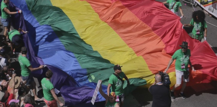 Totalni murem za aresztowanym działaczem LGBT - zdjęcie