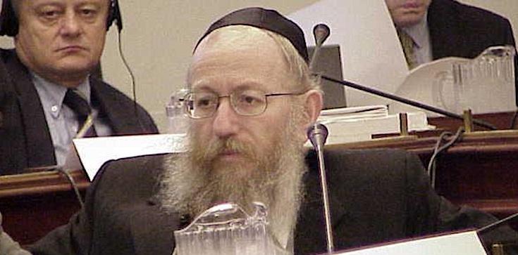 Były minister zdrowia Izraela krył pedofilię?! Miał też przyjąć łapówkę - zdjęcie