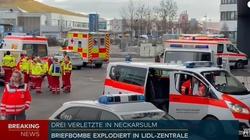 Niemcy. Są ranni w wyniku eksplozji w centrali Lidla - miniaturka