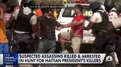 [Wideo] Haiti. Amerykanie i Kolumbijczycy wśród zabójców prezydenta - miniaturka