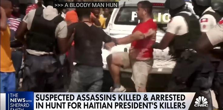 [Wideo] Haiti. Amerykanie i Kolumbijczycy wśród zabójców prezydenta - zdjęcie