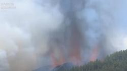 [Wideo] Hiszpania. Wybuch wulkanu na jednej z Wysp Kanaryjskich. Duże zagrożenie dla mieszkańców i turystów - miniaturka