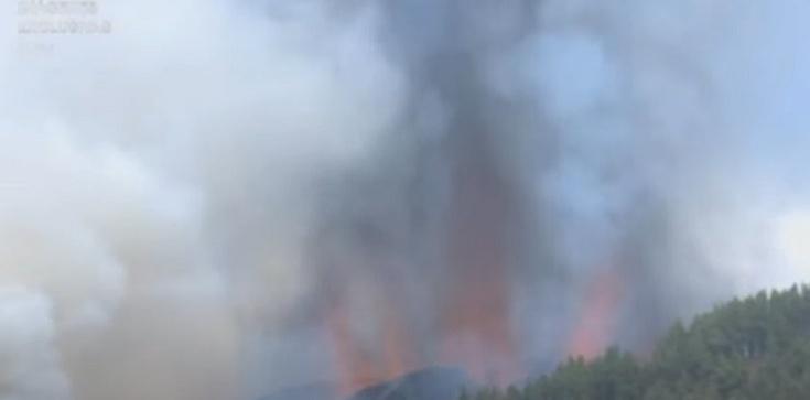 [Wideo] Hiszpania. Wybuch wulkanu na jednej z Wysp Kanaryjskich. Duże zagrożenie dla mieszkańców i turystów - zdjęcie