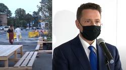 Trzaskowski chce zwężenia Alei Jerozolimskich i kolejnej ,,strefy relaksu'' w zabetonowanej części stolicy - miniaturka