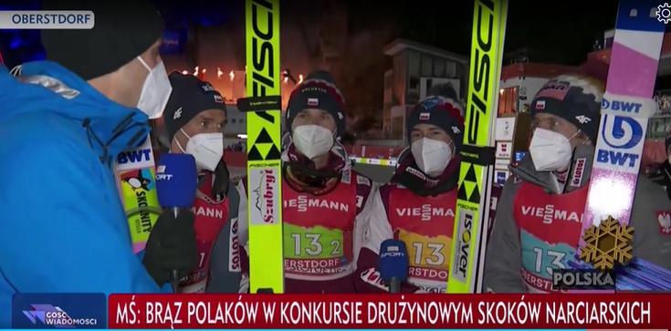 Mamy brąz! Brawa dla polskich skoczków. Do złota zabrakło bardzo niewiele - zdjęcie