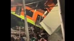 [Wideo] Tragedia w metrze w Meksyku. Nie żyje co najmniej 15 osób - miniaturka