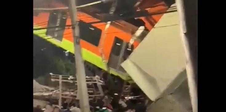 [Wideo] Tragedia w metrze w Meksyku. Nie żyje co najmniej 15 osób - zdjęcie