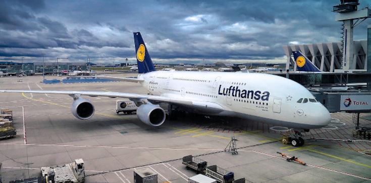 Lufthansa i Aerofłot mocno w dół - zdjęcie