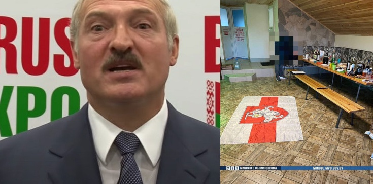 Wrogów ojczyzny dopadniemy nawet w... saunie! ,,Wjazd'' białoruskiej milicji do sauny w Żodzinie - zdjęcie