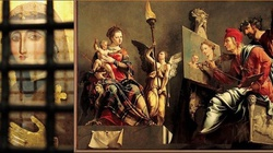 Zobacz prawdziwe Oblicze Maryi namalowane przez św Łukasza - miniaturka