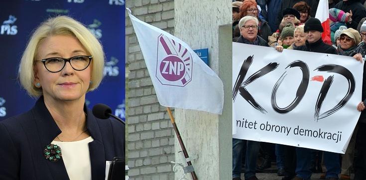 Marzena Machałek dla Frondy mocno o hipokryzji ZNP! - zdjęcie