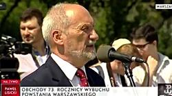 Macierewicz: Rosja pokazała potencjał. Zagrożenie rośnie - miniaturka