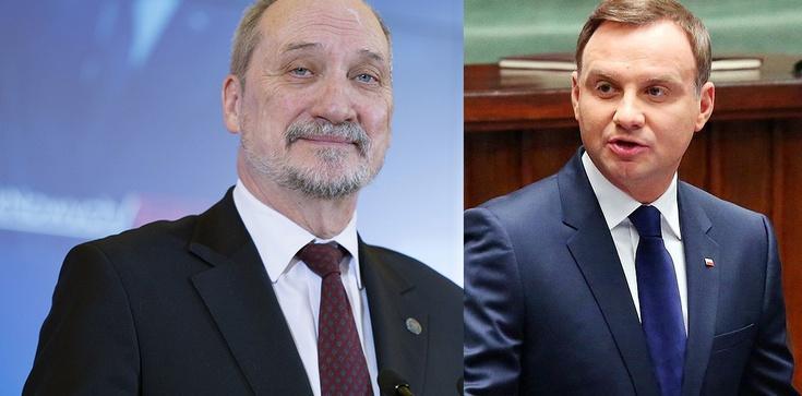 TVP Info ujawnia kulisy sporu prezydenta z szefem MON. Kto dążył do deeskalacji? - zdjęcie