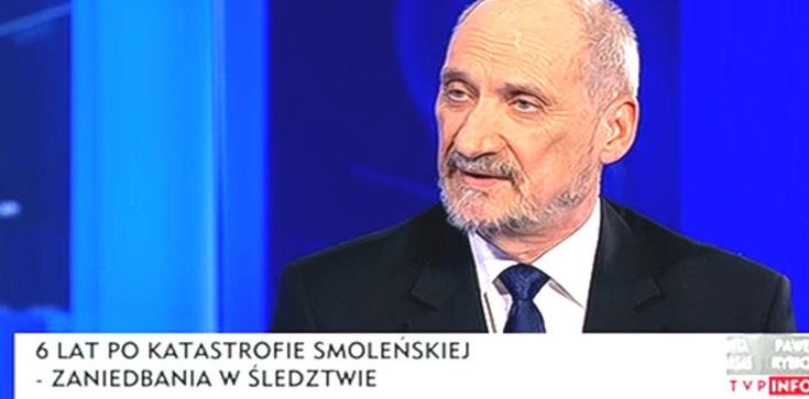 Macierewicz: Wszystkie osoby, które były uwikłane w sprawę smoleńską awansowały!  - zdjęcie