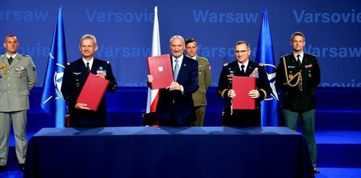 Co podpisał szef MON podczas szczytu NATO? - zdjęcie