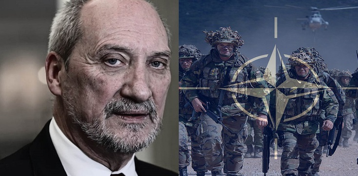 Macierewicz: Szczyt NATO w Warszawie dla bezpieczeństwa Polski i regionu - zdjęcie