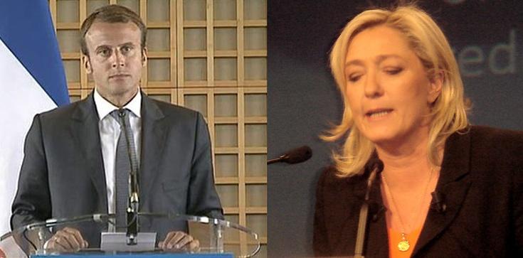 Macron ma problem. Marine Le Pen na szczycie sondaży - zdjęcie