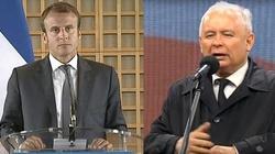 Kaczyński krótko i celnie odpowiada Macronowi - miniaturka