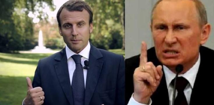 Czy Macron ugnie się przed Putinem? Andrzej Talaga dla Fronda.pl - zdjęcie