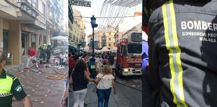 Eksplozja w Hiszpanii . 90 rannych. Wybuch gazu? - zdjęcie
