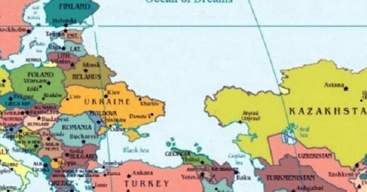 W Miejscu Rosji Wielki Ocean Jest Nowa Mapa Fronda Pl